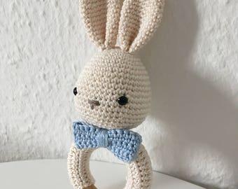 Rattle, Griffin Amigurumi Bunny