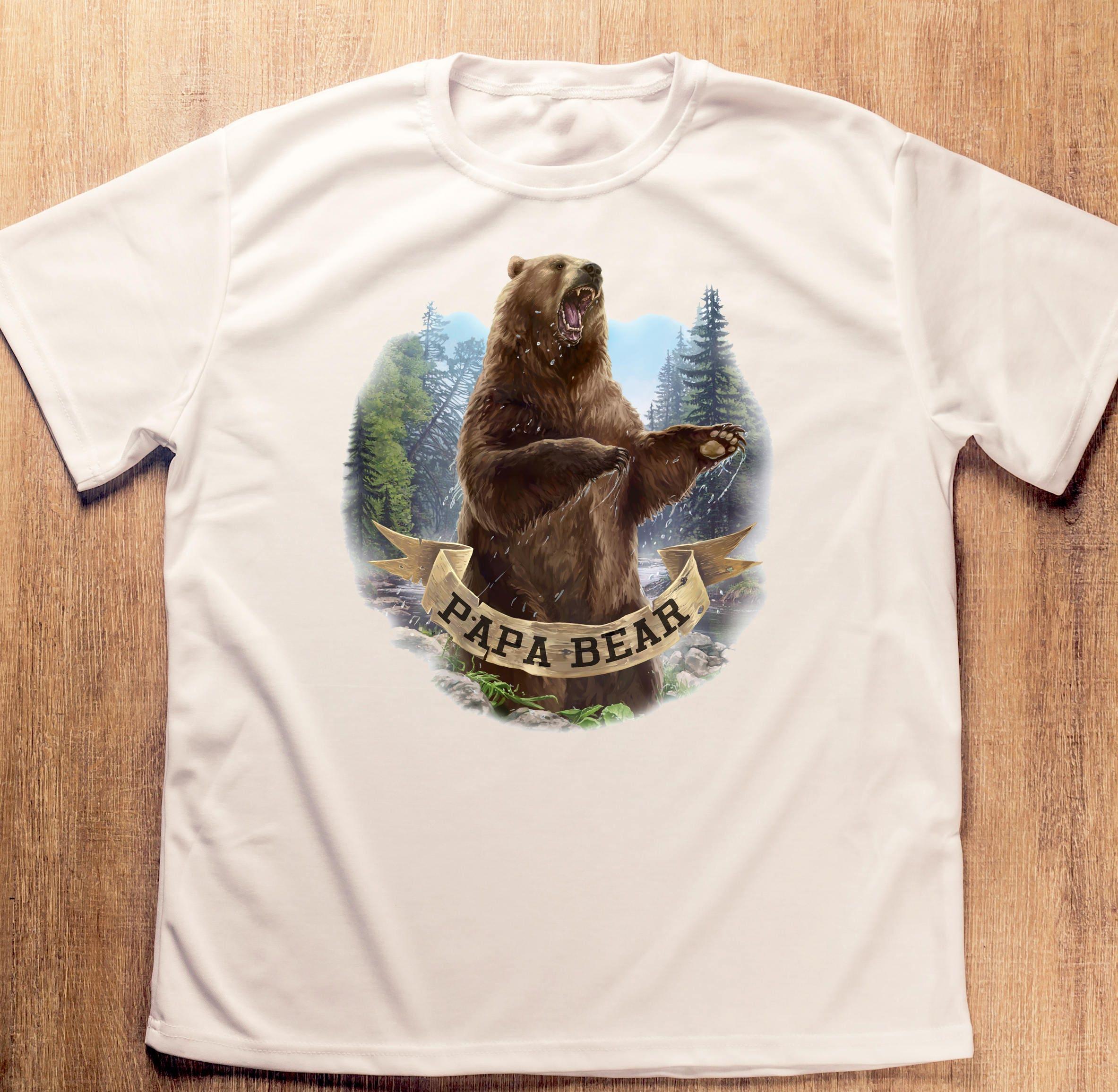 Papa ours T-Shirt pères jour Papa ours Funny Dad chemise papa vêtements  pères jour cadeau pour papa ours chemise Papa ours chemise Papa ours Tee 4085a5cb9d0