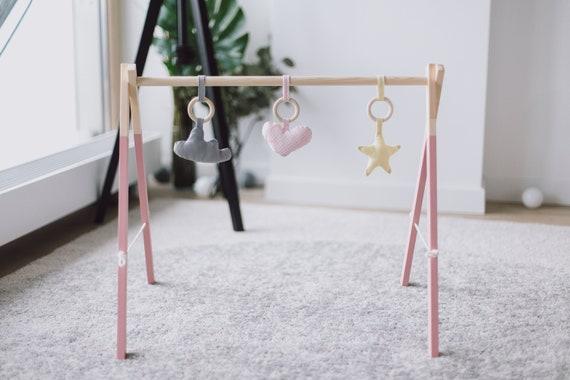 rose en bois pour bébé gym salle de jeu pour les filles | etsy