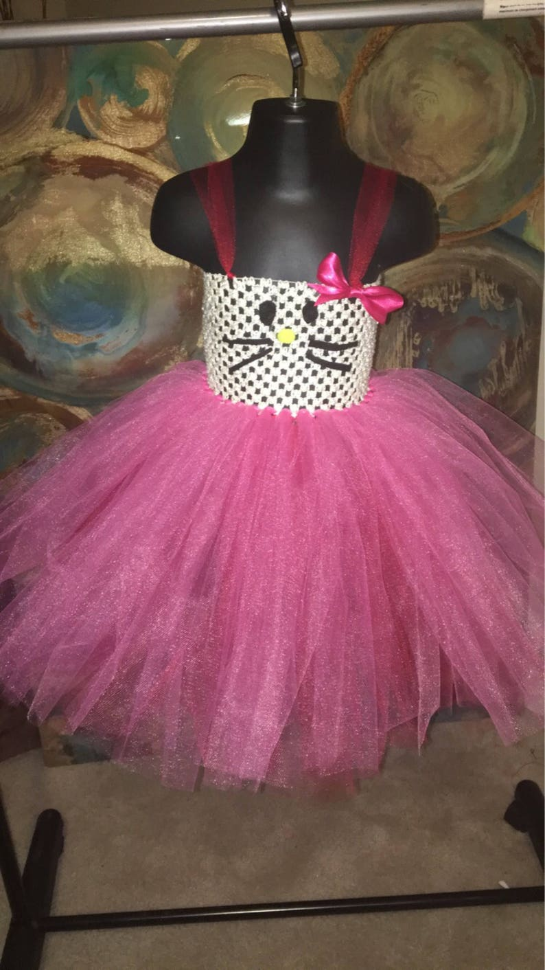 f2ca9b1c9 Hello Kitty Costume Tutu Dress for baby girl Baby girl tutu | Etsy
