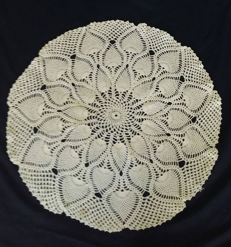 Small Round Table Cloths.21 5 Inch Vintage Large Doily Small Round Crochet Table Cloth Round Tablecloth Vintage Tablecloth Crochet Tablecloth Vintage Tablecloth