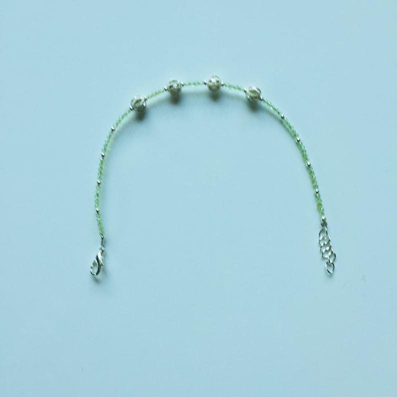 Pearl bracelet Silver Ball
