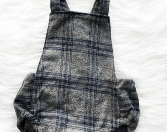 Gray play suit size 6-9 months