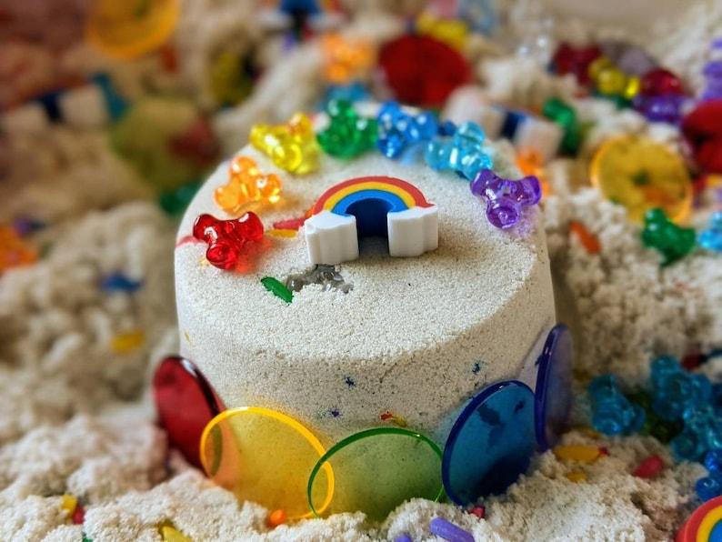 Rainbow Sprinkle Cake Sensory Sand Kit image 0