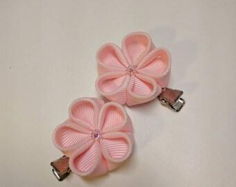 Kanzashi Flower Hair Clips