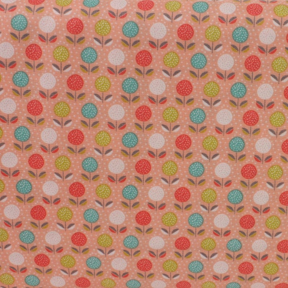 BLOOM for Makower 100/% cotton patchwork /& quilting fabric per FQT ~  floral
