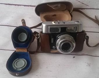 Voigtlander Vito CL luxury with color Lanthar prontor 500LK Vintage camera 60s
