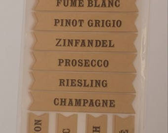 Wine Label Stickers