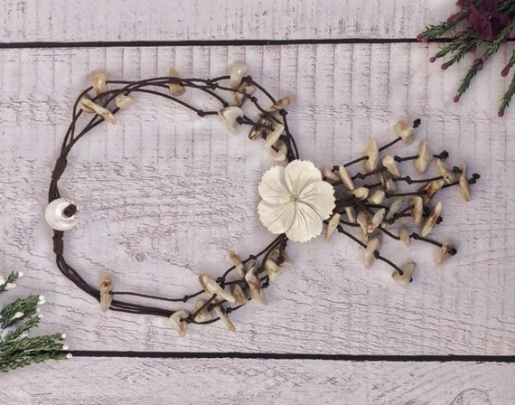 Tribal Shell Beach Necklace.