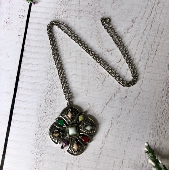 Wonderful Agate Celtic Necklace.