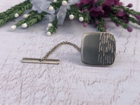 Vintage Silver Collar Stud.