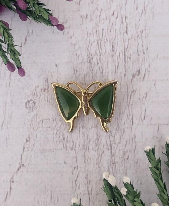 Vintage Connemara Butterfly Brooch