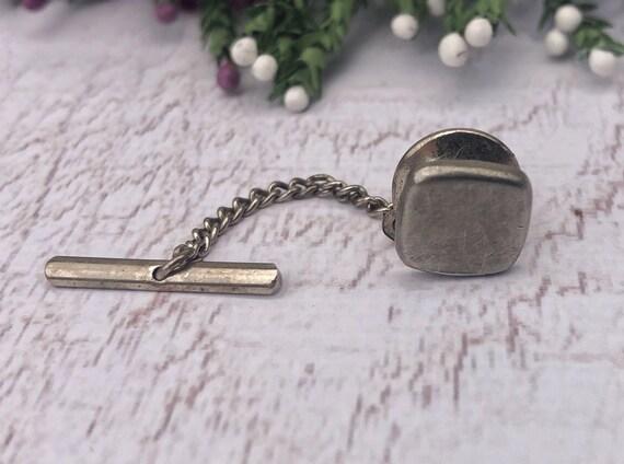 Small Vintage Silver Collar Stud.