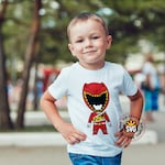 Power Rangers DIno Charge Kids T-shirt Design for HTV, Svg, Png, Pdf for silhouettte cricut HTV Power Ranger