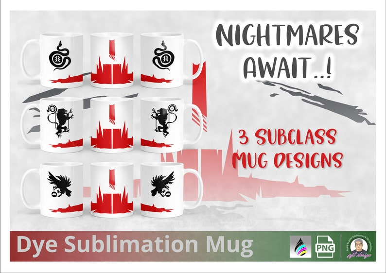 Destiny 2 Shadowkeep Mug Design  Hunter Warlock Titan  image 0