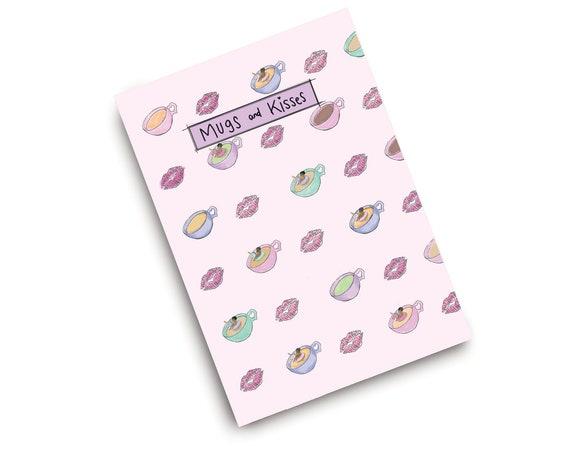 Mug and Kisses Notebook