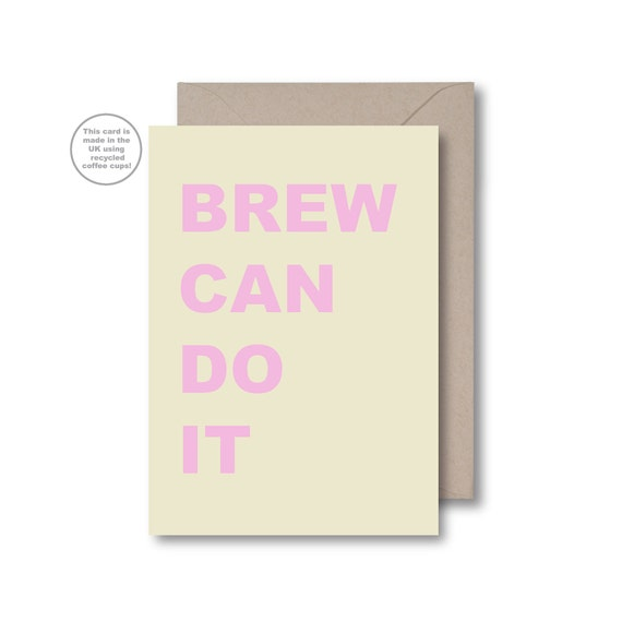 Brew Can Do It (Words)