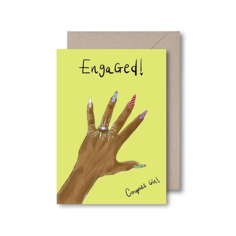 Engaged Congrats Girl!
