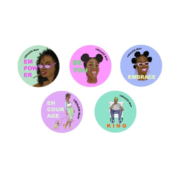 5 pack of stickers