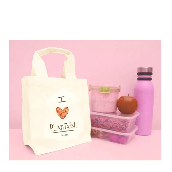 I love Plaintain Lunch Bag