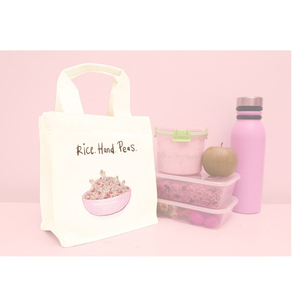 Rice Hand Peas Lunch Bag