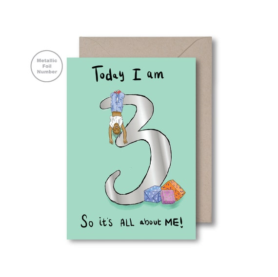 Today I am 3!