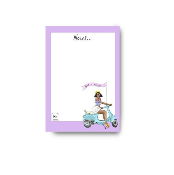 Keep It Moving Notepad