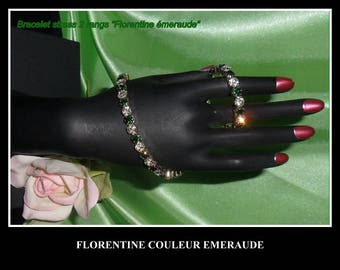 FLORENTINE EMERALD BRACELET