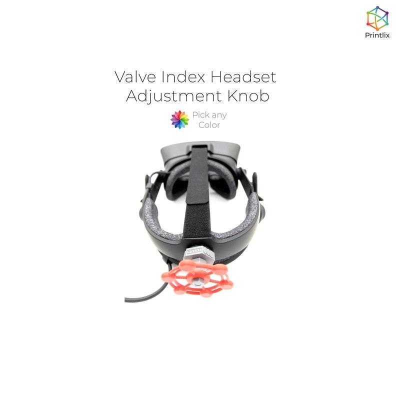 PLA 3D Printed Valve Index Headset Adjustment Knob