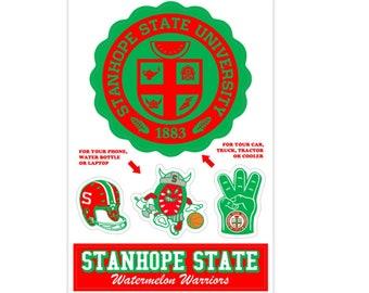 Campus Sticker Pack