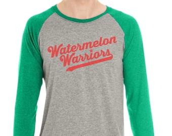 Watermelon Warriors Raglan Shirt