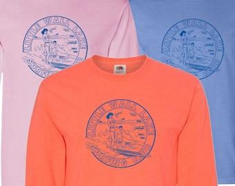 Little Wall Lake Surfing Club Long Sleeve T-Shirt