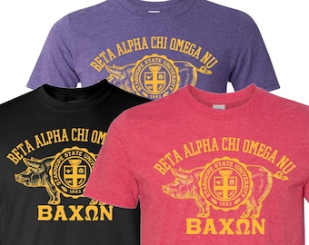 Bacon Fraternity/Sorority T-Shirt - Campus Greek Life
