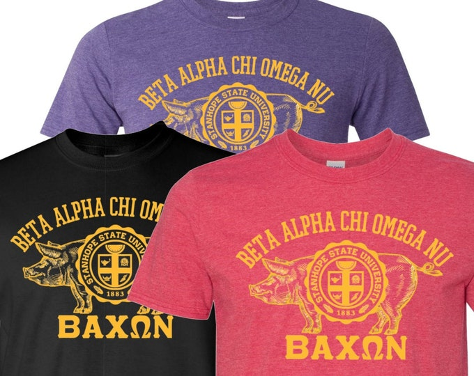 Featured listing image: Bacon Fraternity/Sorority T-Shirt - Campus Greek Life