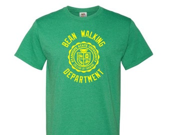 Bean Walking Department T-Shirt - College of Farming