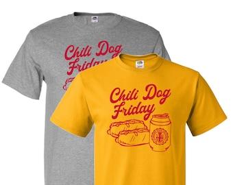 Chili Dog Friday T-Shirt - College of Culinary Arts