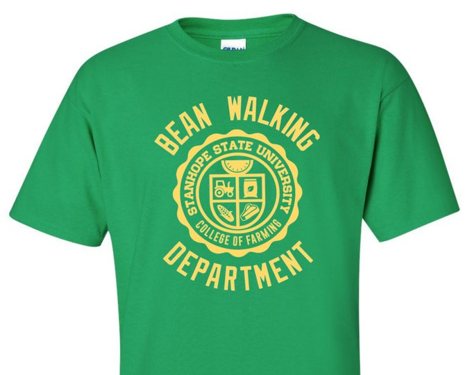 Featured listing image: Bean Walking Department T-Shirt - College of Farming