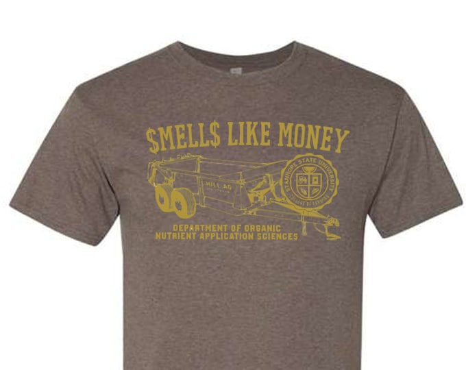 Featured listing image: Smells Like Money - College of Farming T-Shirt