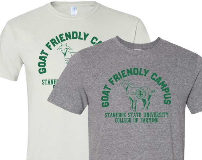 Featured listing image: Goat Friendly Campus Shirt - College of Farming
