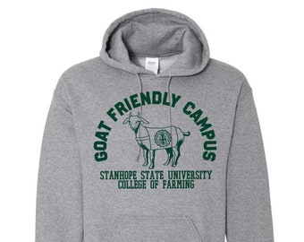 Goat Friendly Campus Hoodie - College of Farming