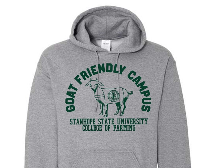 Featured listing image: Goat Friendly Campus Hoodie - College of Farming