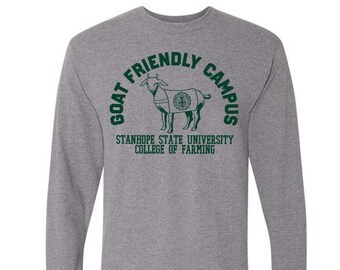 Goat Friendly Campus Long Sleeve Shirt - College of Farming