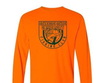 Stanhope State University Fishing Club Long Sleeve