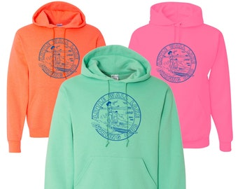Little Wall Lake Surfing Club Hoodie