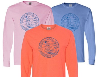 Little Wall Lake Surfing Club Long Sleeve T-Shirt