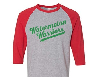 Watermelon Warriors Raglan Shirt