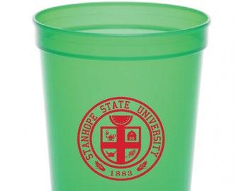 4 PACK - 12 oz Stadium Cups