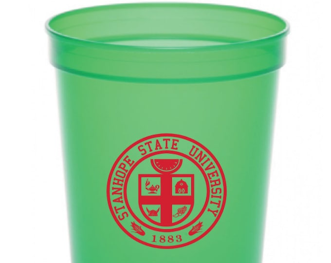Featured listing image: 4 PACK - 12 oz Stadium Cups