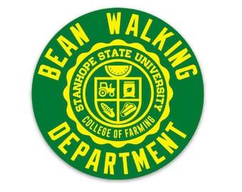 Bean Walking Department Magnet - College of Farming