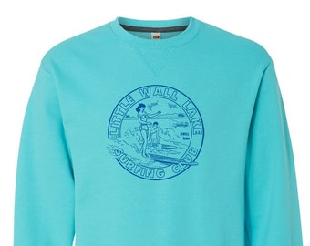 Little Wall Lake Surfing Club Crewneck Sweatshirt